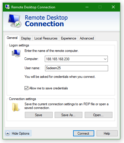 Remote Desktop Application Preview